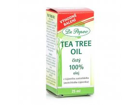 Tea Tree Oil 100%, 25 ml