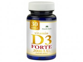 750 vitamin d3 forte 2000 i u 30 tablet