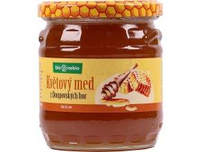 Bio Nebio Bio květový med z Doupovských hor ČESKÉ BIO 500 g