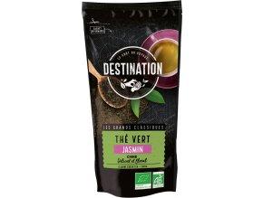 Destination Premium Bio zelený čaj jasmínový sypaný 100 g