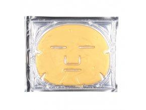 Kolagenova maska na oblicej zlata Salvus Praha Profi