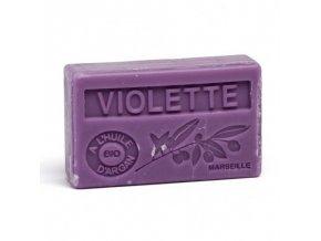 savon 100gr huile d argan bio violette