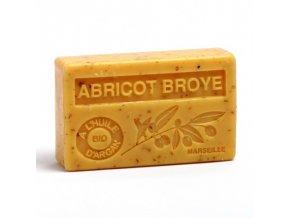 savon 100gr huile d argan bio abricot broye