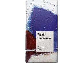 Vivani Bio mléčná čokoláda 100g