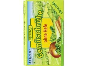 RAPUNZEL Bio zeleninový vývar bez droždí v kostce 8 ks
