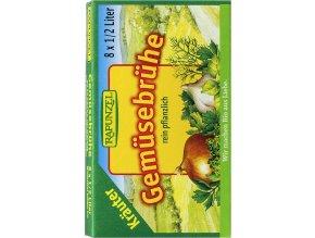 RAPUNZEL Bio zeleninový vývar bylinkový v kostce 8 ks