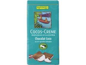 RAPUNZEL Bio mléčná čokoláda KOKOS 100g
