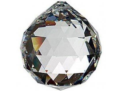 kristalova kapka 4cm cira