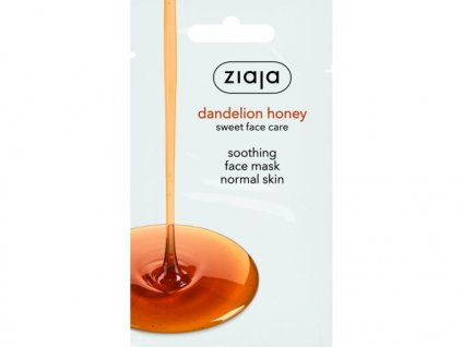 16586 15676 gb de es cz sk hu dandelion honey face mask sachet 60542 bs
