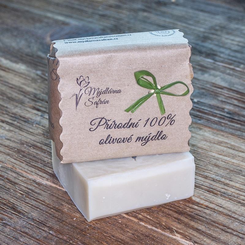 Přírodní 100% OLIVOVÉ mýdlo s ATESTEM VHODNÉ PRO DĚTI