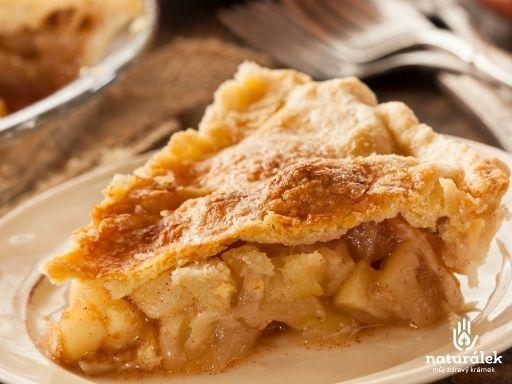 Jablečný koláč bez přidaného cukru