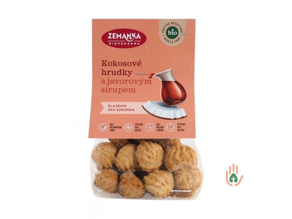 Biopekárna Zemanka Kokosky s javorovým sirupem BIO 100g
