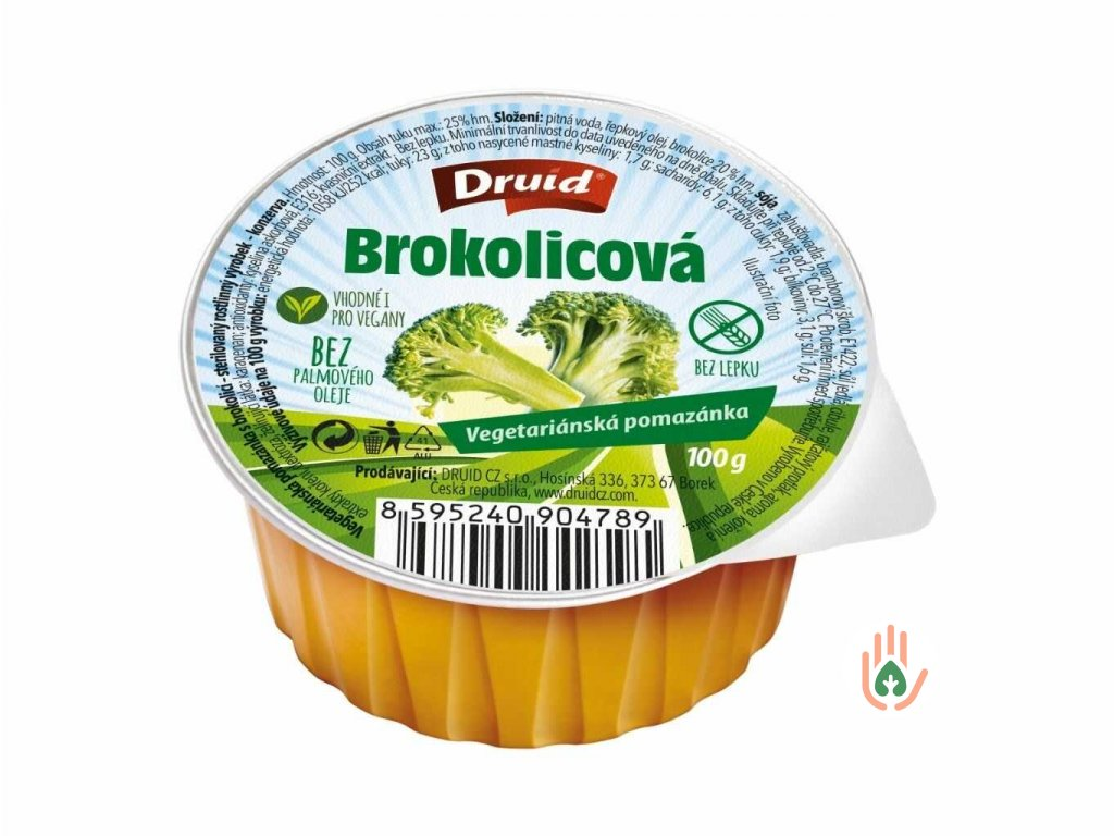DRUID Vegetariánská pomazánka s brokolicí 100g