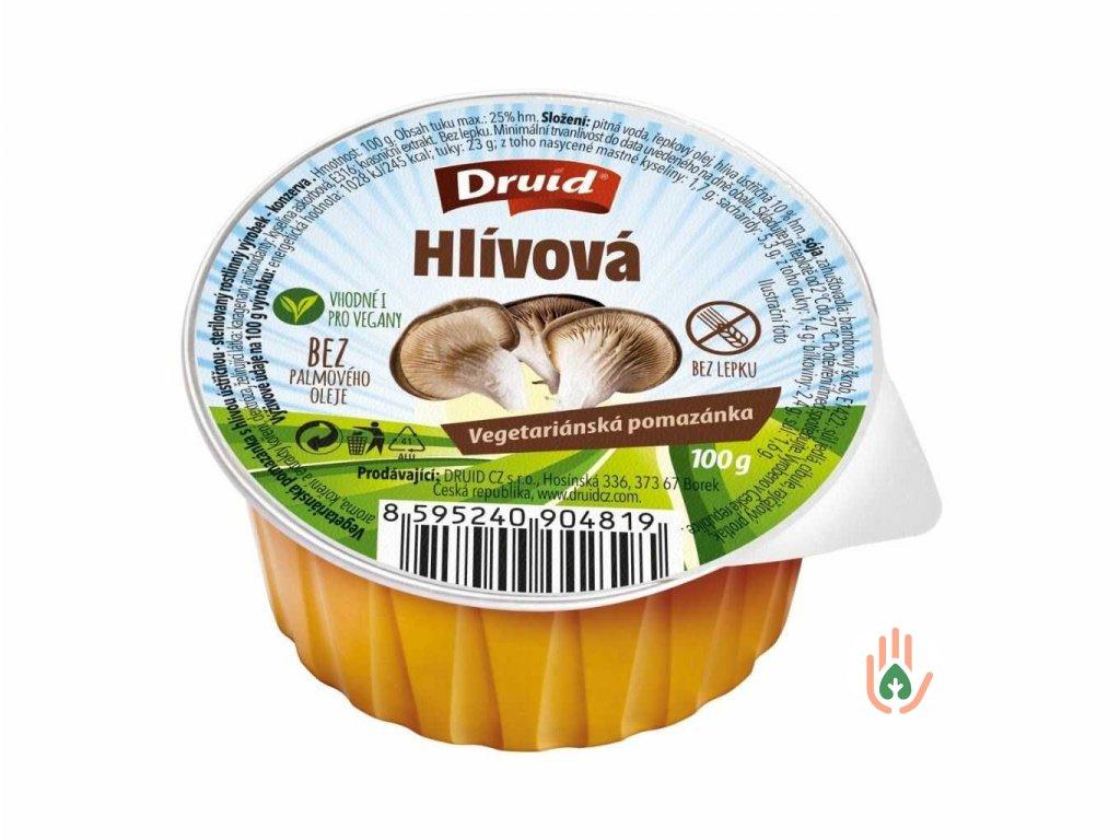 DRUID Vegetariánská pomazánka s hlívou 100g