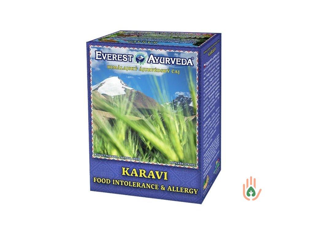 Ájurvédský čaj Karavi