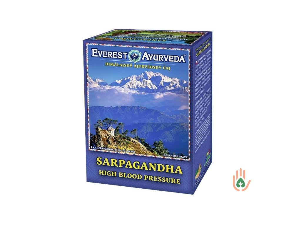Ájurvédský čaj Sarpagandha