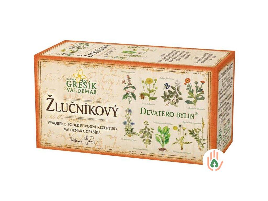 Grešík Bylinný čaj Žlučníkový 20n.s.