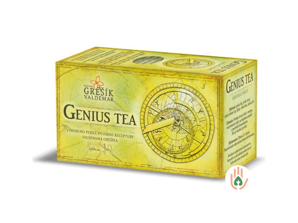 Grešík Čaj Genius Tea (bylinný) 20n.s.