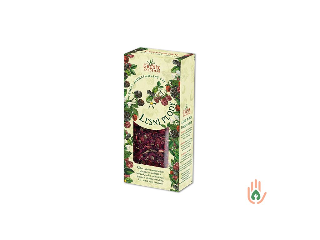 Grešík Čaj Lesní plody 100g