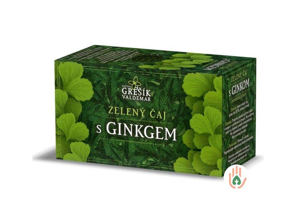 Grešík Zelený čaj s ginkgem 20n.s. 30g