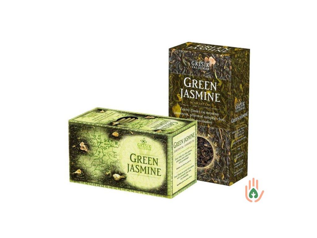 Grešík Pravý zelený čaj Green Jasmine 70g