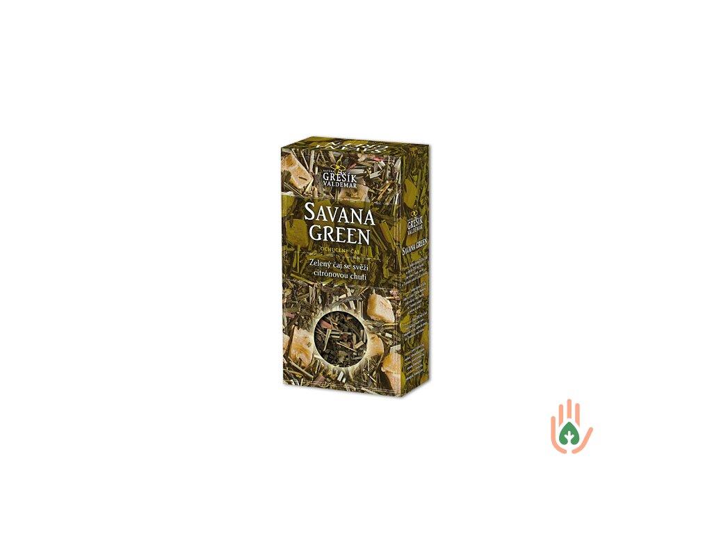 Grešík Pravý zelený čaj Savana Green 70g