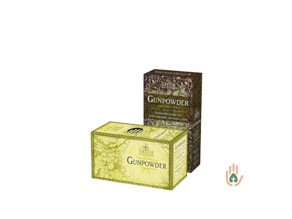 Grešík Pravý zelený čaj sypaný Gunpowder 70g