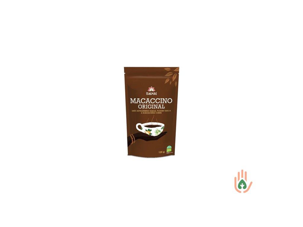 ISWARI Macaccino kakaový nápoj s macou BIO 125g