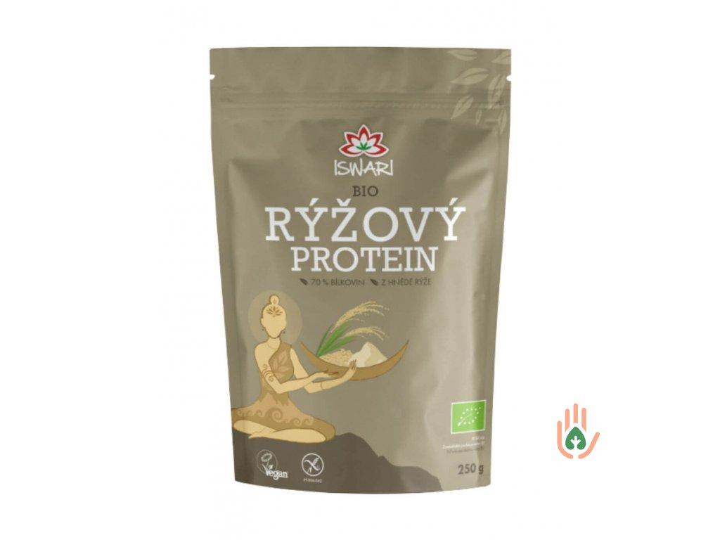 ISWARI Rýžový protein 80% BIO 250g