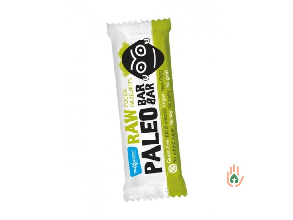 MAX SPORT RAW Paleo BARBAR kakao-lískový oříšek 50g