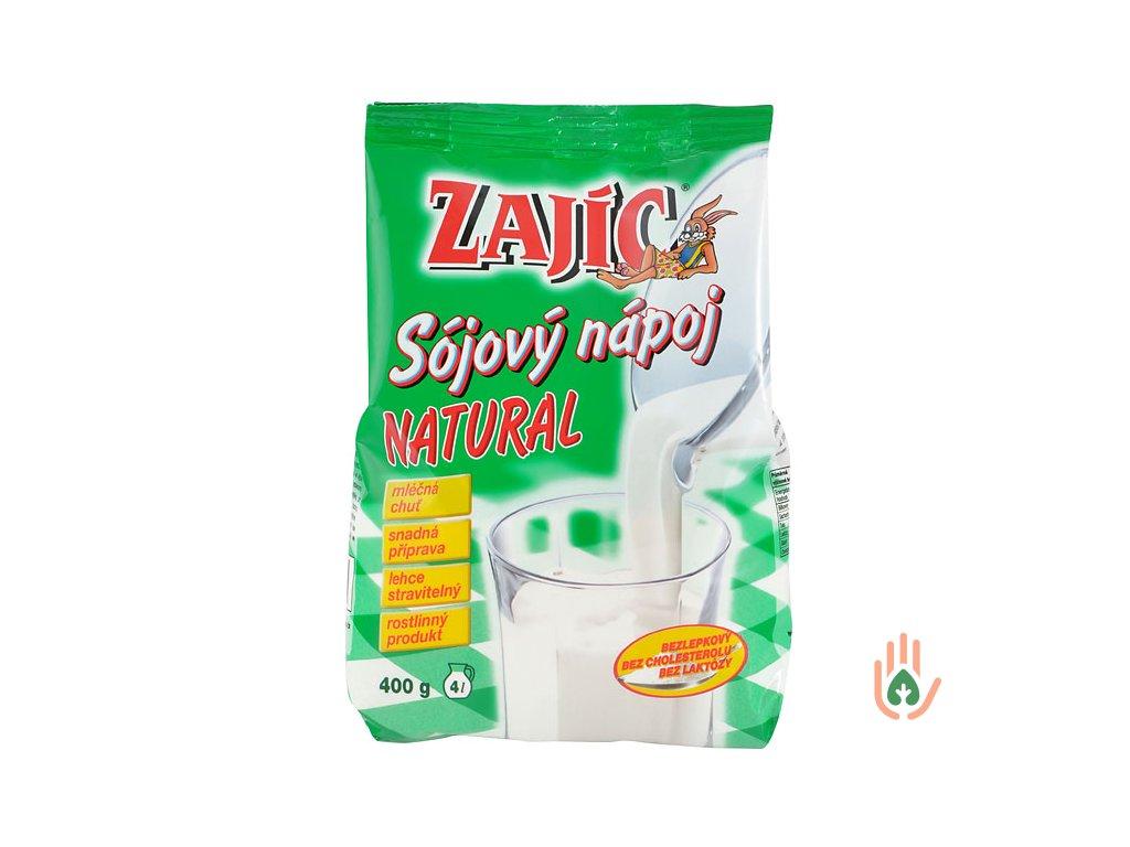 MOGADOR Zajíc Nápoj sójový natural 400g