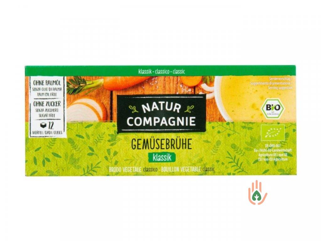 NATUR COMPAGNIE Zeleninový bujón BIO (12x0,5l) 126g
