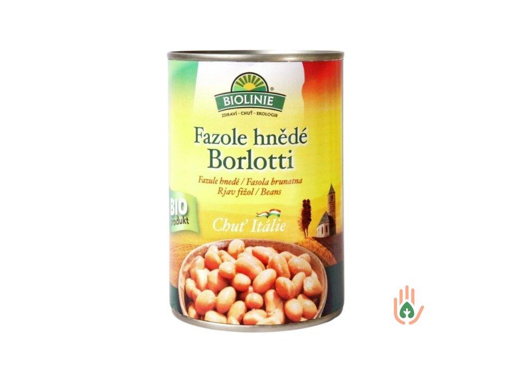 Fazole hnědé Barlotti BIO