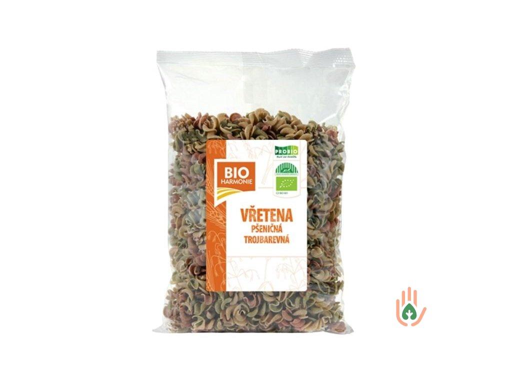 Pšeničná vřetena celozrnná trojbarevná BIO