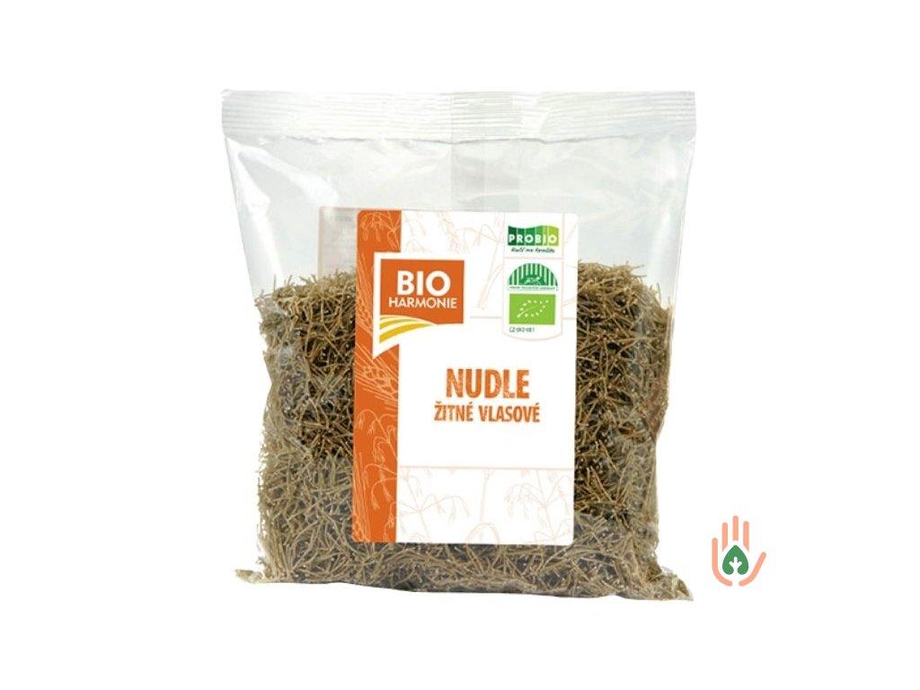 Nudle žitné vlasové celozrnné BIO