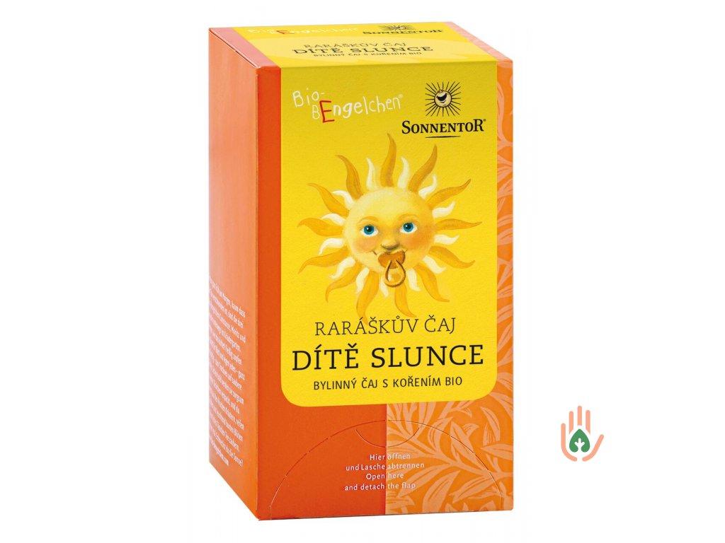 Sonnentor Raráškův čaj Dítě slunce (bylinný) porc. BIO 30g
