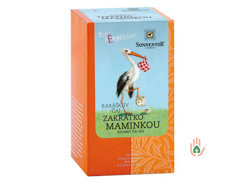 Sonnentor Raráškův čaj Zakrátko maminkou (bylinný) porc. BIO 20g