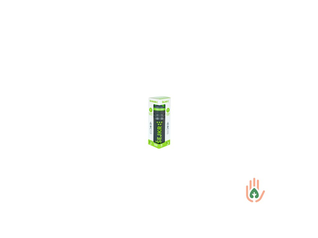 Zdravá lahev Šejkr zelený 0,7l