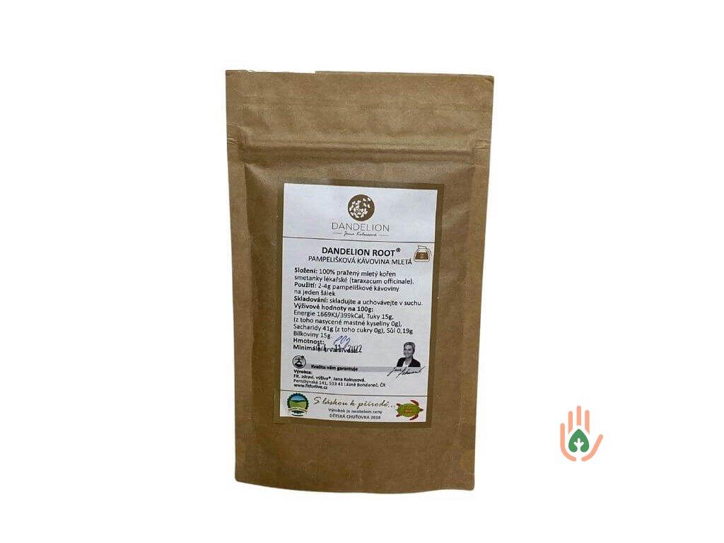DANDELION ROOT Pampelišková kávovina pražený mletý kořen 80g