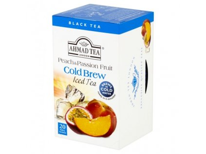 Ahmad Tea Cold Brew Iced Tea Peach & Passion Fruit 20x2g