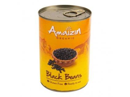 AMAIZIN Fazole černá sterilovaná BIO 400g