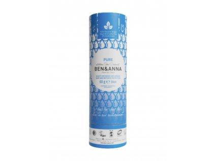 Tuhý deodorant Ben & Anna Bez vůně