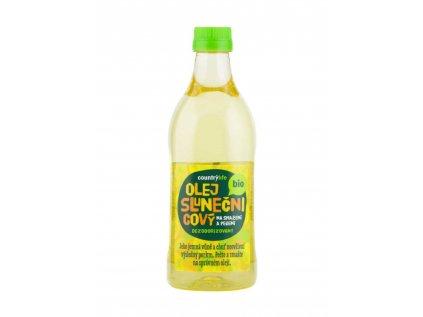 Olej slunečnicový dezodorizovaný na smažení a pečení BIO