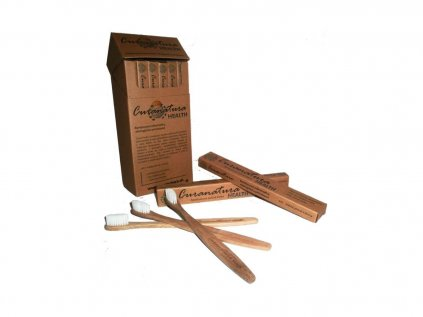Bambusový zubní kartáček health soft