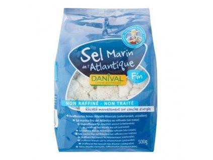 DANIVAL Mořská sůl jemná 500g