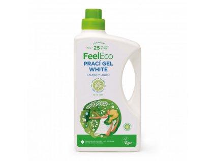 FEEL ECO  Prací gel na bílé prádlo (white) 1,5l