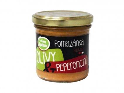 Pomazánka Olivy a peperoncino