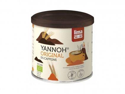 LIMA Yannoh Instantní obilné kafe bez kofeinu BIO 125g