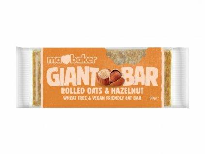 Giant bar flapjack lískový oříšek