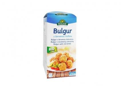 Bulgur s červenou čočkou BIO